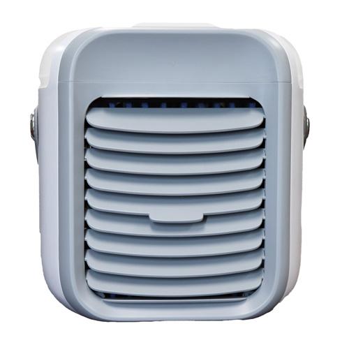 その他オススメ商品(期間限定)()バッテリー内蔵 ポータブルミニクーラー 水冷風扇 (グレー)