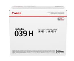 キヤノン(Canon)純正トナーカートリッジ039H (0288C001/CRG-039H)