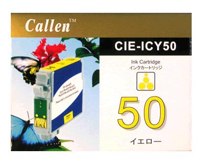 エプソン(Epson)汎用品インクカートリッジ ICY50 (イエロー)
