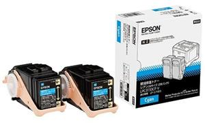 エプソン(Epson)純正LPC3T33CPV 環境推進トナー(青・シアン)2本パック(Mサイズ)
