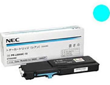 NEC(エヌイーシー)純正PR-L5900C-13 トナーカートリッジ(シアン)
