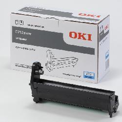 沖データ(OKI)純正DR-C4CC イメージドラム(青・シアン)