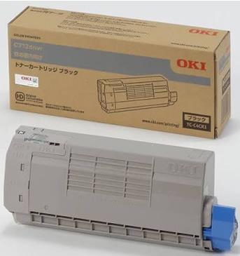沖データ(OKI)純正TC-C4CK1 トナーカートリッジ ブラック