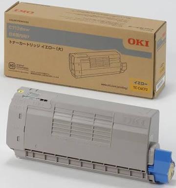沖データ(OKI)純正TC-C4CY2  トナーカートリッジ イエロー大容量