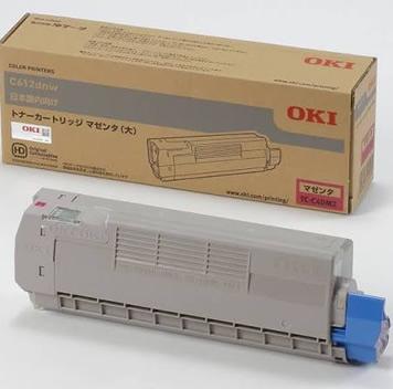 沖データ(OKI)純正TC-C4DM2 トナーカートリッジ マゼンタ大容量