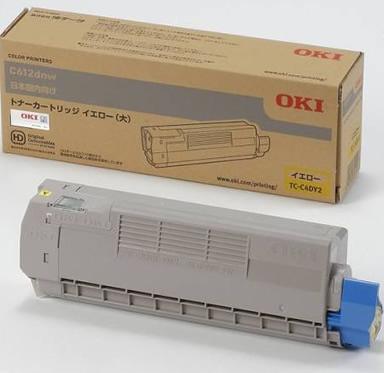 沖データ(OKI)純正TC-C4DY2 トナーカートリッジ イエロー大容量